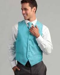 Light Blue Vest Mens Vest Tie Set 4 Piece Tuxedo Suit Mens Dress Shirt