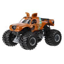 all monster jam trucks wheels monster jam scooby doo vehicle walmart com