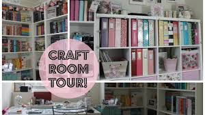Jennifer Mcguire Craft Room - craft room office space tour january 2017 youtube