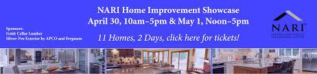 spring home improvement showcase 2016 nari of central ohio