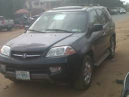 acura jeep a registered acura mdx jeep 4 sale 2002 model autos nigeria