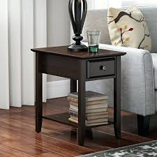 end table with locking drawer fashionable end table with drawer table drawer design brianis me