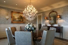 crystal chandelier dining room extraordinary ideas crystal