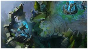 Summoners Rift Map Check Out Some Summoner U0027s Rift Concept Art League Of Legends