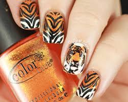 tiger nails nail art pinterest tiger nails tigers and nail