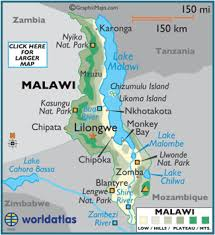 africa map malawi malawi map geography of malawi map of malawi worldatlas