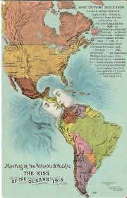 Oceans Map The Panama Canal Where Two Oceans Kiss Big Think
