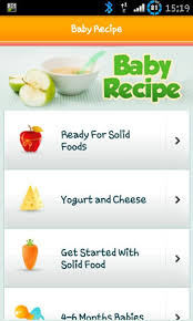 recipe apk 100 baby food recipe lite apk for android