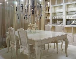 white dining table and coloured chairs with concept picture 3235