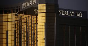 las vegas shooting gunman shot security guard minutes before attack