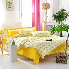 Sunflower Bed Set Yellow Bed Sheets 8 Floral Print Bedding Set Gray Yellow