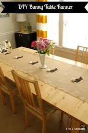 quick and easy table runner can make a ho hum table look fab