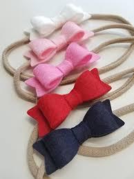baby bows baby bows headbands navy and pink handmade
