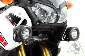 denali auxiliary light mounting bracket for yamaha xt1200z