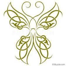 celtic butterfly ii postcard butterfly