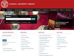 100 Library Websites For Web Design Inspiration