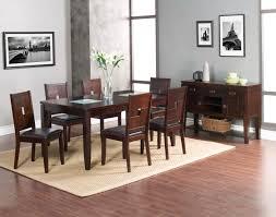 alpine furniture lakeport 5 piece extension dining room set in