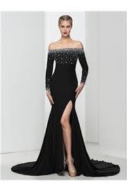 Meme Lacour - robe de soir礬e noire pas cher robe de soir礬e noire en ligne 2017