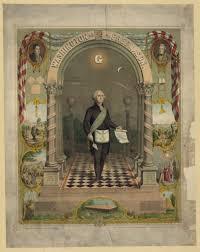 symbols masonic washington as a master mason premium poster