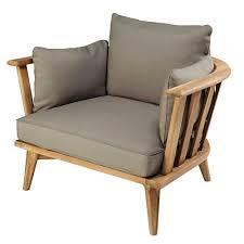 poltrone americane poltrona da giardino in legno massello di acacia e cuscini color