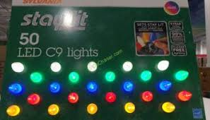 sylvania 100 count led color changing lights costcochaser
