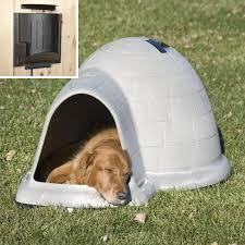 dog palace dog house with floor heater hayneedle