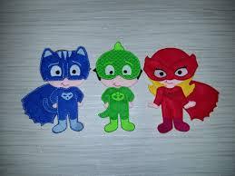 pj mask finger puppets complete gekko catboy night ninja romeo