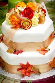 fall wedding cakes how to decorate fall wedding cakes