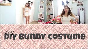 Bunny Halloween Costumes Kids Easy Minute Diy Halloween Costume Bunny