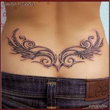 60 low back tattoos for detail and tatting
