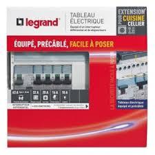 tableau electrique pour cuisine legrand tableau électrique équipé spécial pour extension cuisine