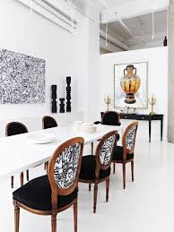Best  White Dining Rooms Ideas On Pinterest Classic Dining - Black and white dining table with chairs
