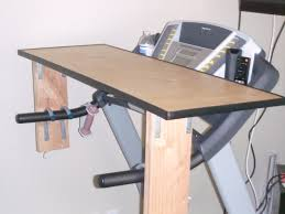 Diy Treadmill Desk Treadmill Standing Desk Attachment Home Design Ideas Standing