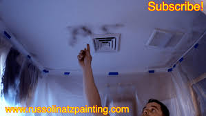 cleaning bathroom ceiling before painting ideas