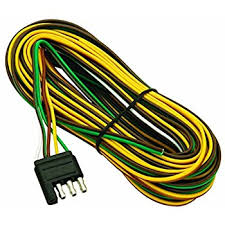 amazon com wesbar 707261 wishbone style trailer wiring harness