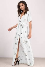maxi dress trendy white multi maxi dress front wrap dress maxi dress