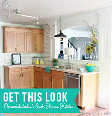 painting light oak kitchen cabinets get this look park house with oak kitchen cabinets