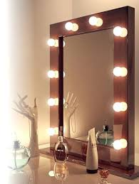 Best Vanity Lighting For Makeup Makeup Mirror With Built In Lights Dressing Table Mirror With