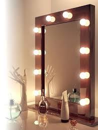 Built In Vanity Dressing Table Makeup Mirror With Built In Lights Dressing Table Mirror With