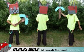 Minecraft Costume Verliswolf Minecraft Costume By Verliswolf On Deviantart