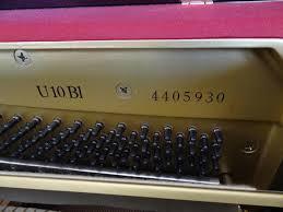 Comment Choisir Un Piano Acheter Un Piano Droit Yamaha U10 4600 Euros U2013 La Note Sensible
