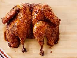 butterflied turkey with apple cranberry glaze recipe food