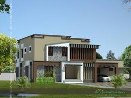 modern house plans kerala