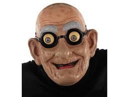 Halloween Costumes Man Gramps Grandpa Man Face Latex Mask Houseofhauntz