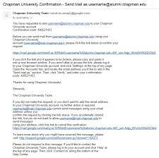 panthermail email for students chapman university