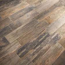 wood tile this wood look porcelain tile flooring a new alternative to