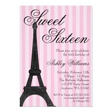 174 best sweet 16 birthday invitations images on pinterest 16