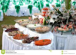 buffet table with seafood royalty free stock photo image 17171335