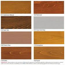 twp wood stain samples colors 1500 series and 100 series
