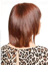 back view of wedge haircut long wedge haircut back view amanda s natural